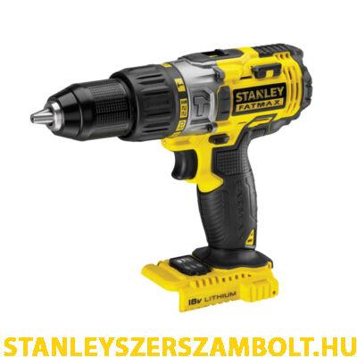 Stanley 18V-os Kétsebességes ütvefúró/csavarozó akku és töltő nélkül (FMC625B)