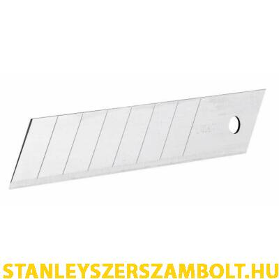 Stanley Tördelhető penge, extra vastag 18mm 8db (0-11-219)