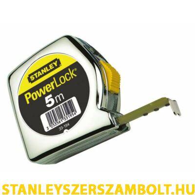 Stanley PowerLock mérőszalag 5méter (0-33-194)