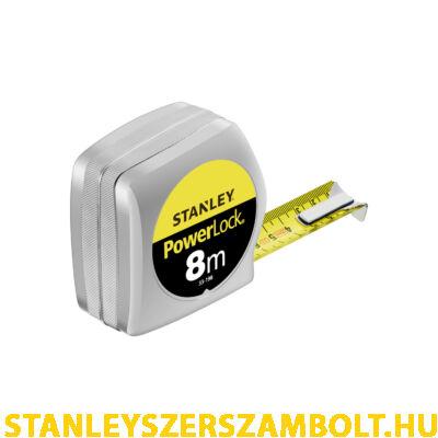 Stanley Powerlock Mérőszalag 8M×25mm (0-33-198)
