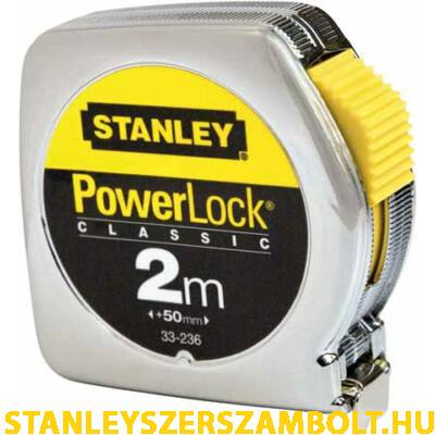 Stanley PowerLock mérőszalag 2méter (0-33-192)