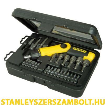 Stanley 22 részes racsnis készlet (0-63-022)