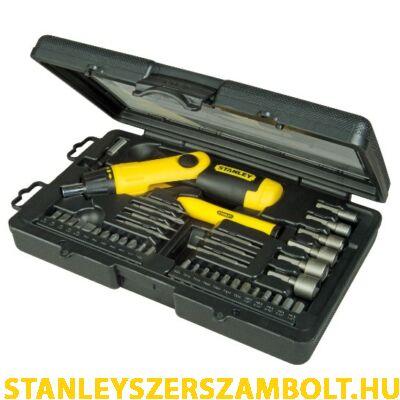 Stanley 38 részes racsnis készlet (0-63-038)