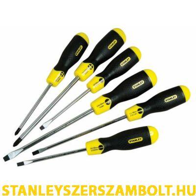 Stanley CushionGrip Csavarhúzó készlet 6részes (0-65-007)