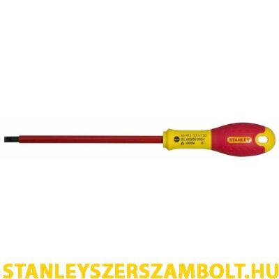 Stanley FatMax szigetelt csavarhúzó lapos 5,5 x 150mm (0-65-413)