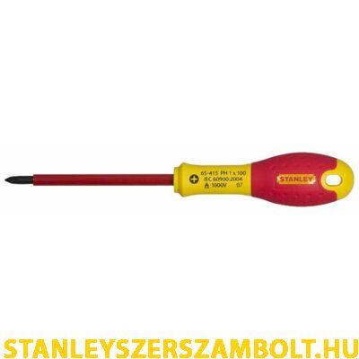 Stanley FatMax szigetelt csavarhúzó Pz0 x 75mm (1-65-417)