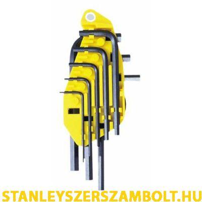 Stanley imbuszkulcs készlet colos  8 részes (0-69-252)
