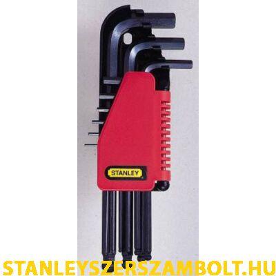 Stanley imbuszkulcs készlet gömbvégű 9 részes (0-69-256)