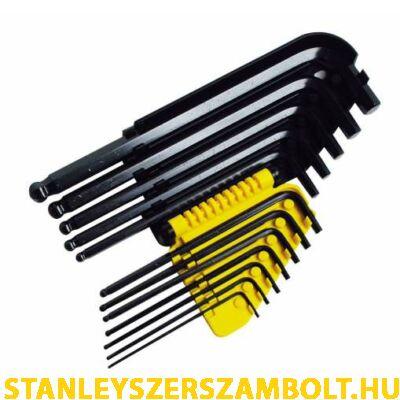 Stanley imbuszkulcs készlet colos 12 részes (0-69-257)