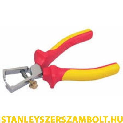 Stanley MaxSteel szigetelt kábelcsupaszító fogó (0-84-010)