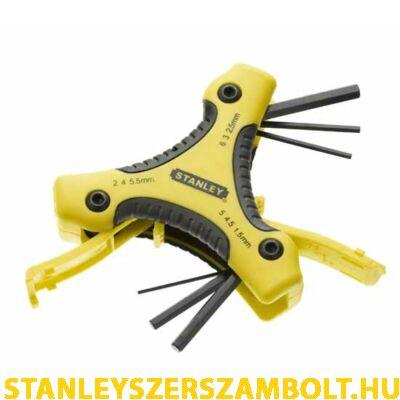 Stanley imbuszkulcs készlet  9 részes (0-95-935)