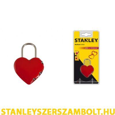 Stanley szív alakú lakat (S742-065)