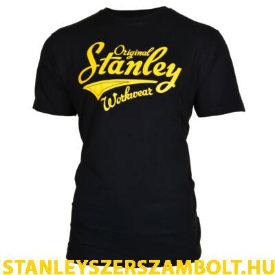 Stanley Fargo munkavédelmi póló fekete (FARGO-BLACK-XL)