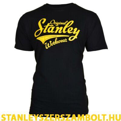 Stanley Fargo munkavédelmi póló fekete (FARGO-BLACK-L)