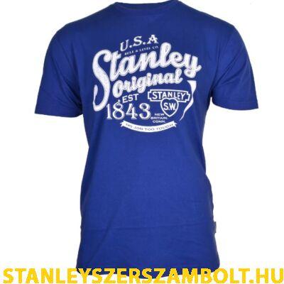 Stanley Fargo munkavédelmi póló kék (FARGO-BLUE-XL)