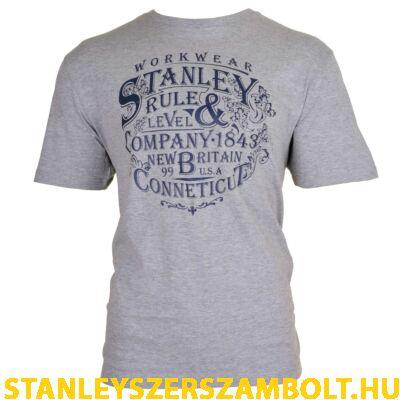 Stanley Fargo munkavédelmi póló szürke (FARGO-GREY-M)
