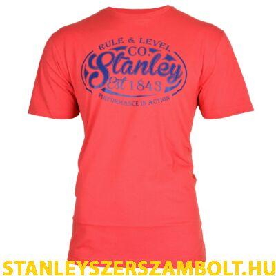 Stanley Fargo munkavédelmi póló piros (FARGO-RED-M)