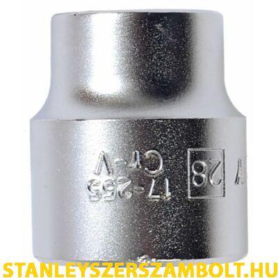 "Stanley 1/2""-os dugókulcs 28mm (1-17-255)"