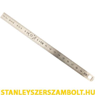 Stanley acélvonalzó  20 cm (1-35-522)