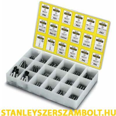 Stanley Behajtóhegy készlet 200 részes (1-68-741)