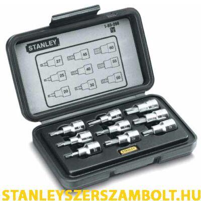 """Stanley dugókulcs készlet torx 1/2"""" (1-89-098)"""