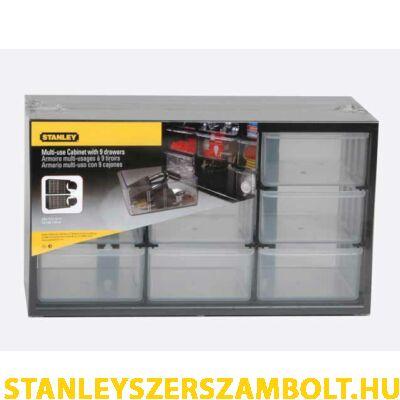 Stanley Csavartartó doboz 9 fiókos (1-93-978)