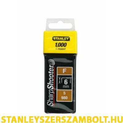 """Stanley Tűzőkapocs """"F"""" 14mm (5/980) 1000db (1-TRS809T)"""