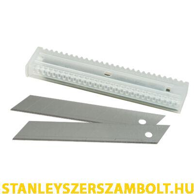 Stanley Tördelhető Penge 18mm Műanyag Tartóban 5db (2-11-301)