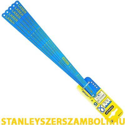 Stanley Laser Fémfűrészlap 300mm 24TPI 5db (2-15-558)
