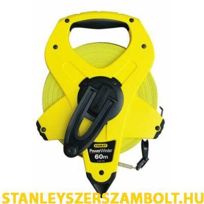 Stanley üvegszálas mérőszalag 60méter (2-34-775)