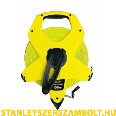 Stanley üvegszálas mérőszalag 100méter (2-34-777)