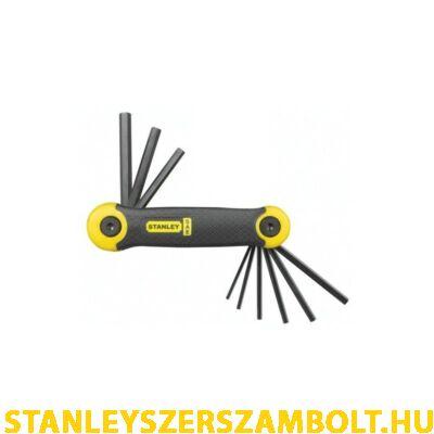 Stanley imbuszkulcs készlet zollos 9 részes (2-69-265)