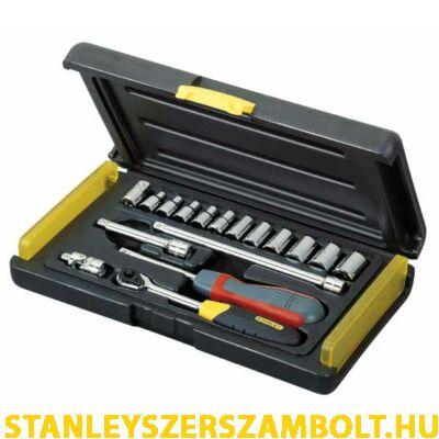 """Stanley dugókulcs készlet mikroracsnis 18 részes 1/4"""" (2-85-582)"""