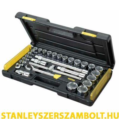 """Stanley dugókulcs készlet mikroracsnis 28 részes 1/2"""" (2-85-584)"""