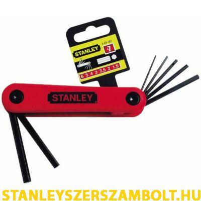 Stanley imbuszkulcs készlet  7 részes (4-69-261)