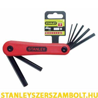 Stanley imbuszkulcs készlet  7 részes (4-69-262)