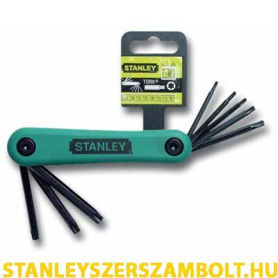Stanley imbuszkulcs készlet torx 8 részes (4-69-263)