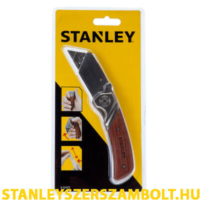 Stanley fanyelű összecsukható trapézpengés kés 160mm (0-10-073)