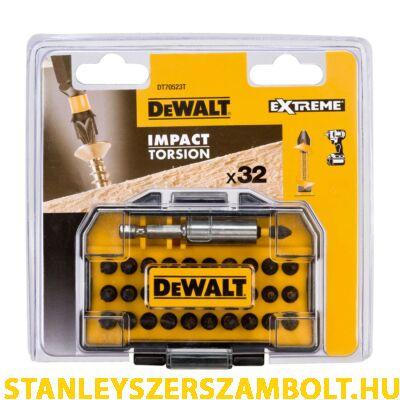 DeWalt 32 db-os Impact Torsion csavarozó készlet (DT70523T-QZ)