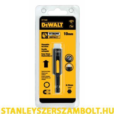 DeWalt Mágneses, tisztítható dugókulcs 10 mm (DT7440-QZ)