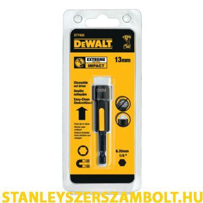DeWalt Mágneses, tisztítható dugókulcs 13 mm (DT7450-QZ)
