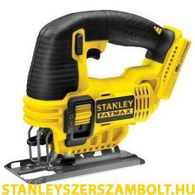 Stanley 18 V 4Ah Akkumulátoros dekopírfűrész akku és töltő nélkül (FMC650B)