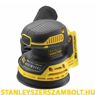 Stanley FatMax 18V-os Excentercsiszoló akku és toltő nélkül (FMCW220B)
