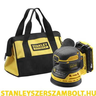 Stanley FatMax 18V-os Excenter csiszoló 125mm (FMCW220D1)