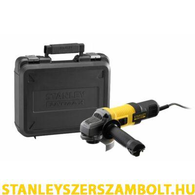 Stanley FatMax 115mm Sarokcsiszoló 850W + Koffer (FMEG210)