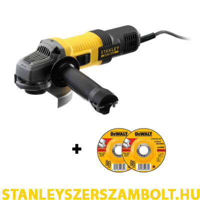 Stanley FatMax 125mm Sarokcsiszoló 850W (FMEG220)