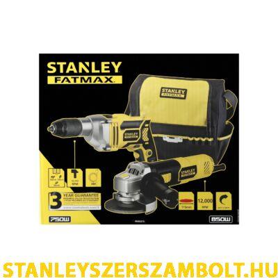 Stanley FatMax Ütvefúró és Sarokcsiszoló készlet (FMEK21S)