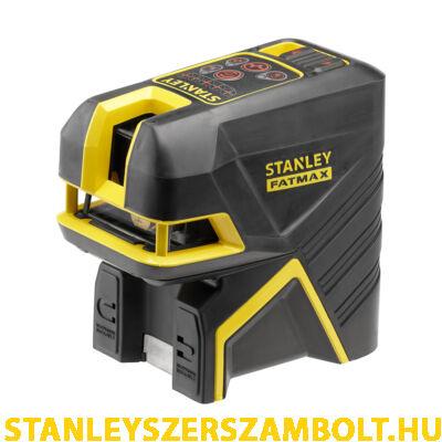 Stanley Fatmax Keresztlézer + 2 pontos Pontlézer - Vörös (FMHT1-77414)