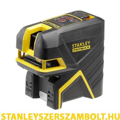 Stanley Fatmax Keresztlézer + 5 pontos Pontlézer - Vörös (FMHT1-77415)