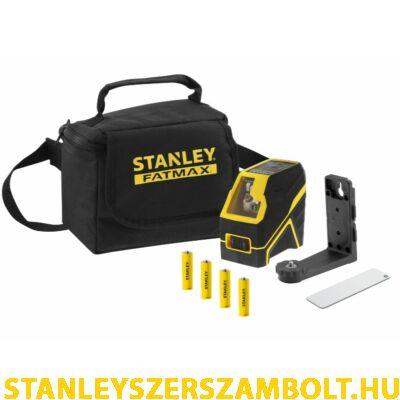 Stanley FatMax Keresztsugaras Lézer 4XAA – Vörös (FMHT77585-1)